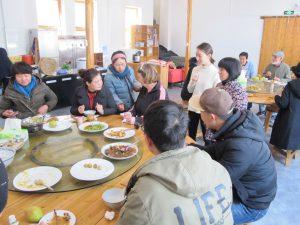 Mijn 'lunchproject' met de mensen waarmee we dagelijks lunchten