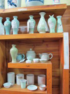 Celadon glazuren naar keuze