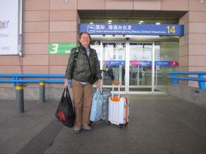 En dan via Shanghai naar huis.